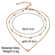 RscvonM-Brand-Stella-DOUBLE-HORN-PENDANT-HEART-NECKLACE-GOLD-Dot-LUNA-Necklace-Women-Phase-Heart-Necklace (3)