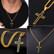 U7-Cross-Enamel-Pendant-Necklace-Stainless-Steel-Black-Gold-Color-For-Men-Women-Religious-Christian-Jewelry (2)